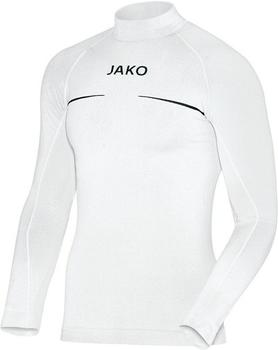 JAKO Comfort Turtleneck Shirt weiß