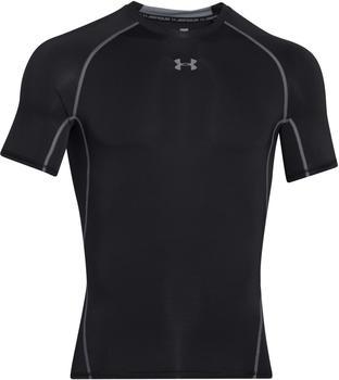 Under Armour Men's HeatGear Compression Short Sleeve black