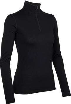 Icebreaker Oasis Long Sleeve Half Zip Women black