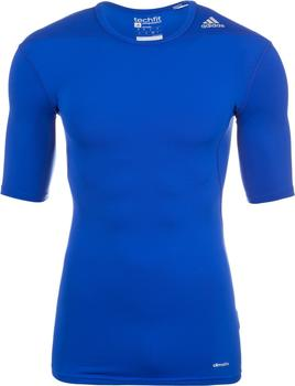 Adidas Techfit Base SS T-Shirt cobalt