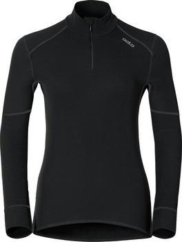Odlo Shirt l/s Turtle Neck 1/2 Zip X-Warm Women (155151) black
