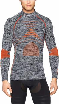 X-Bionic Accumulator Evo Man Melange Shirt Round Neck grey melange/orange