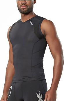 2XU Men's Compression Sleeveless Top black