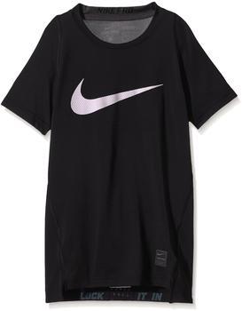 Nike Pro Hypercool Compression HBR Shortsleeve Kids black