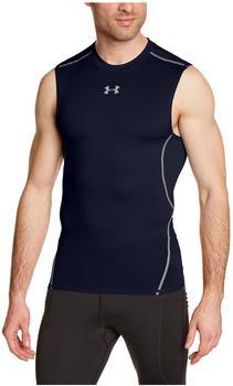 Under Armour Herren Kompressions-Shirt UA HeatGear Armour ärmellos steel