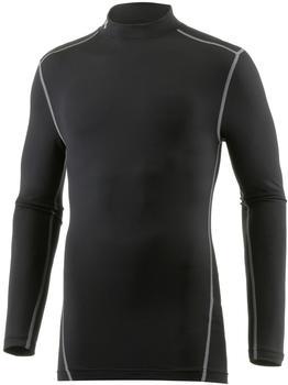 Under Armour Herren Kompressions-Mock-Shirt UA ColdGear Armour langärmlig schwarz