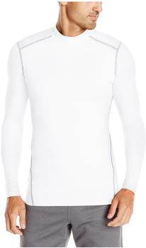 Under Armour Herren Kompressions-Mock-Shirt UA ColdGear Armour langärmlig weiß
