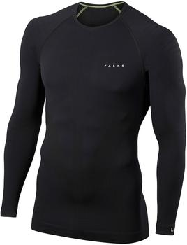 Falke Men Long Sleeved Shirt Warm (39611) black
