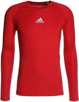 Adidas Alphaskin Longssleeve Shirt power red