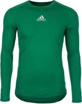 Adidas Alphaskin Longssleeve Shirt bold green
