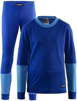 Craft Baselayer Set Junior blue