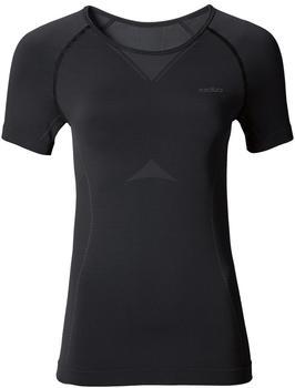 Odlo Evolution Light Shirt S/S Crew Neck Women black/graphite grey