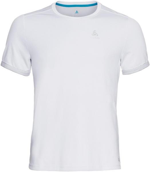 Odlo BL Top Nikko F-Dry Short Sleeve Crew Neck Shirt white