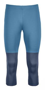 Ortovox Fleece Light Short Pants M blue sea