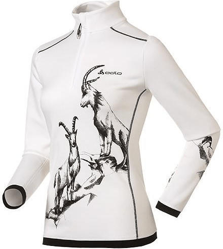 Odlo Shirt l/s Turtle Neck 1/2 Zip Warm Trend Women