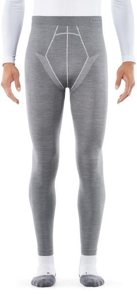 Falke Men Long Tights Wool-Tech (33416) grey heather