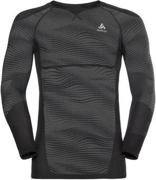 Odlo Men SUW Top Performance Blackcomb LS black/odlo concrete grey /silver