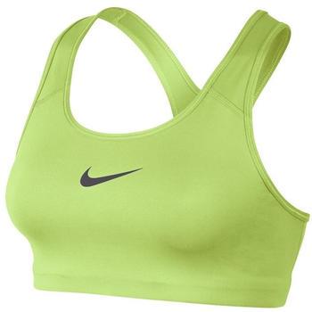 Nike Swoosh Medium-Support Sports Bra volt glow/gunsmoke