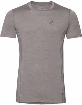 Odlo Men's Natural + Light Short-Sleeve Base Layer Top (110642) grey melange