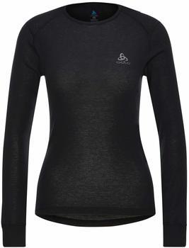 Odlo Women's Active Warm Eco Long-Sleeve Baselayer Top black