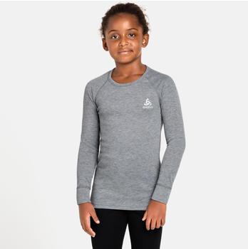 Odlo Active Warm ECO Kids Long-Sleeve Baselayer Top grey melange