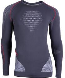Uyn UYN Evolutyob Man Underwear Shirt Long Sleeves charcoal/white/red