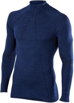 Falke Man Long Sleeved Shirt Wool-Tech dark night (33410-6177)