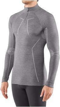 Falke Man Long Sleeved Shirt Wool-Tech grey heather (33410-3757)