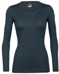 Icebreaker Womens Merino 200 Oasis Long Sleeve Scoop Neck Thermal Top nightfall