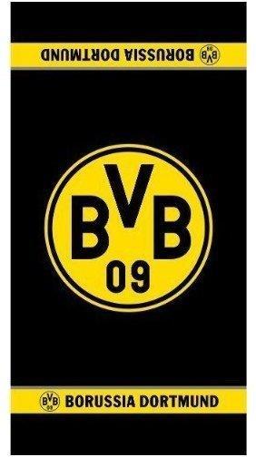 BVB Borussia Dortmund Duschtuch Logo