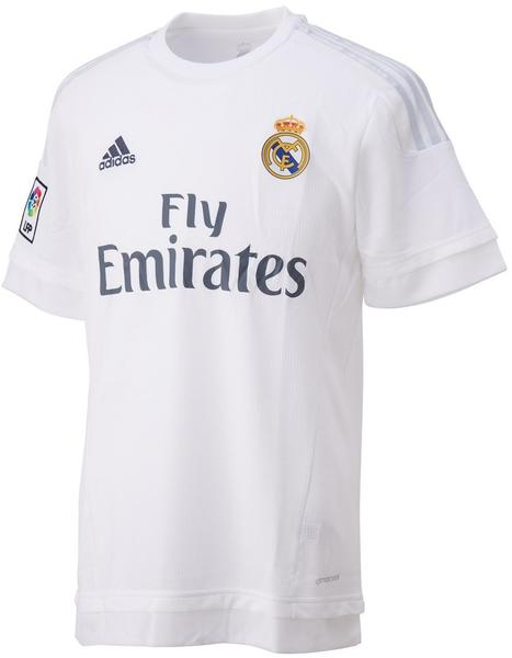 adidas Real Madrid Herren Heim Trikot 2015/2016 white/clear grey XXL