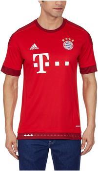 adidas FC Bayern München Herren Heim Trikot 2015/2016 fcb true red/craft red XXL