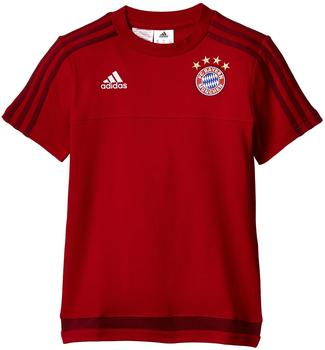 Adidas FC Bayern T-Shirt Performance 2016/2017 Kinder rot