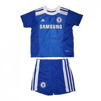 adidas Chelsea Mini Home Kit 2011 2012 Kinder Reflex Blue
