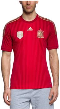 adidas Spanien Herren Heim Trikot Weltmeisterschaft 2014 victory red/light football gold/university red XL