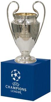 UEFA Champions League Pokalreplika auf Holzpodest 45 mm