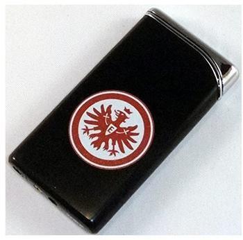 Eintracht Frankfurt Luxus Feuerzeug Metall schwarz NEU