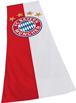 FC Bayern Hissflagge Logo 400 x 150 cm