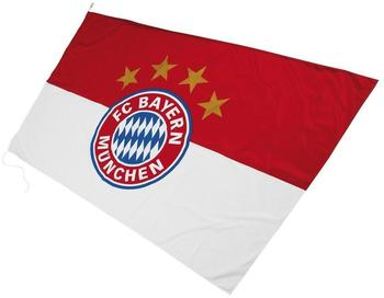 FC Bayern Hissflagge Logo 250 x 150 cm