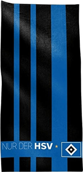 Bertels Textil Duschtuch Borussia Dortmund Blockstreifen (70x140cm)