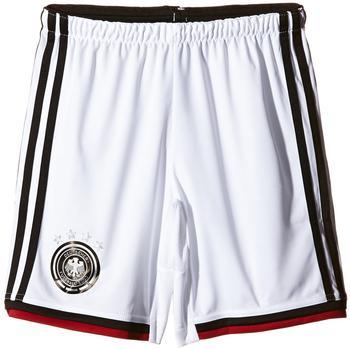 adidas DFB Kinder Heim Short 4 Sterne Weltmeisterschaft 2014 white/black/victory red/matte silver Gr. 164