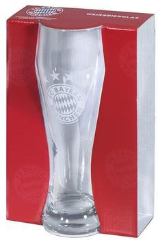 keine Angabe FC Bayern Weißbierglas Logo
