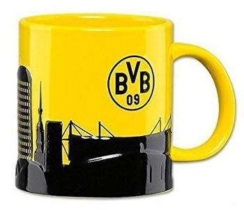BVB Borussia Dortmund Tasse mit Skyline
