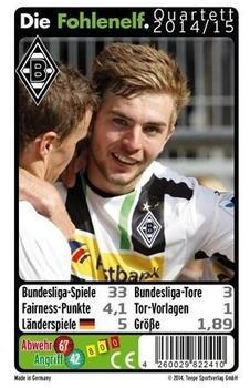 Teepe Sportverlag Borussia Mönchengladbach Quartett Spiel 2014/2015