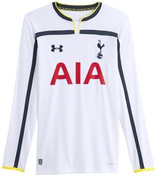 Under Armour 2014-2015 Tottenham Startseite Langarm-Fuball-Hemd Wh ...
