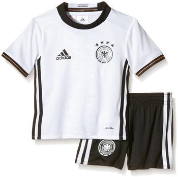 adidas DFB Kinder Heim Minikit EM 2016 white/black Gr. 116