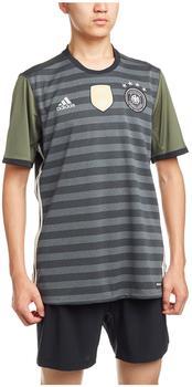 adidas DFB Herren Auswärts Trikot EM 2016 dark grey heather/off white/base green M