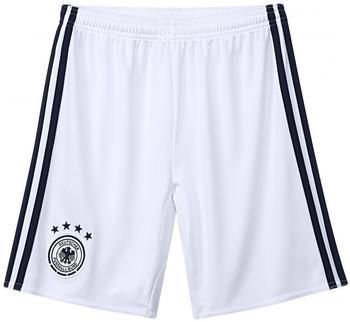 adidas DFB Kinder Heim Short EM 2016 white/black Gr. 164