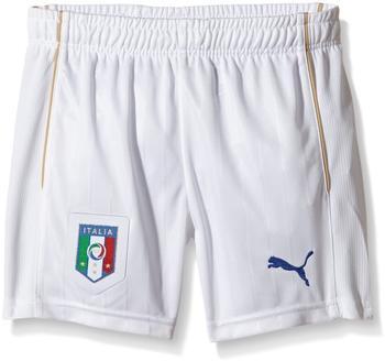 Puma Italien Shorts Home Kinder EM 2016 weiß