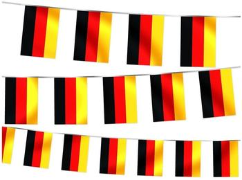 keine Angabe 2 Stück Deutschland Weltmeisterschaft 2014 8M Wimpelkette Fahnenkette Flaggenkette Fanartikel